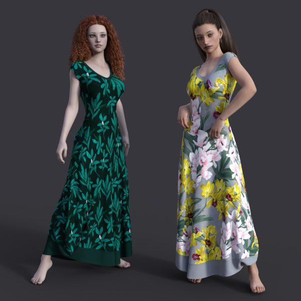 MbM Sweetheart Dress for Genesis 8 Female